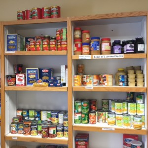 Food Pantry Shelf
